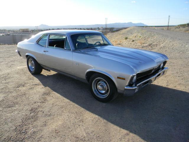 No Reserve 1970 Chevrolet Nova Sport Coupe Ss Clone 350 Std Solid 68 69 72 71 Classic