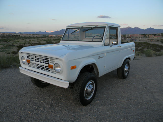 no reserve 1970 ford bronco uncut half cab v8 66 67 68 69 70 71 72 73 74 75 76 classic ford. Black Bedroom Furniture Sets. Home Design Ideas