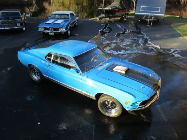 No Reserve 1970 Ford Mustang Mach 1 351 Cleveland Shaker