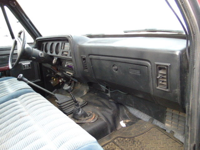 Nv4500 Transmission For Sale >> NO RESERVE 1989 DODGE 1ST GEN POWER RAM W250 CUMMINS ...