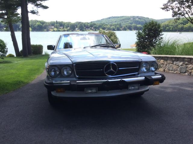 No reserve 1989 mercedes benz 560sl roadster classic for Mercedes benz of danbury used cars
