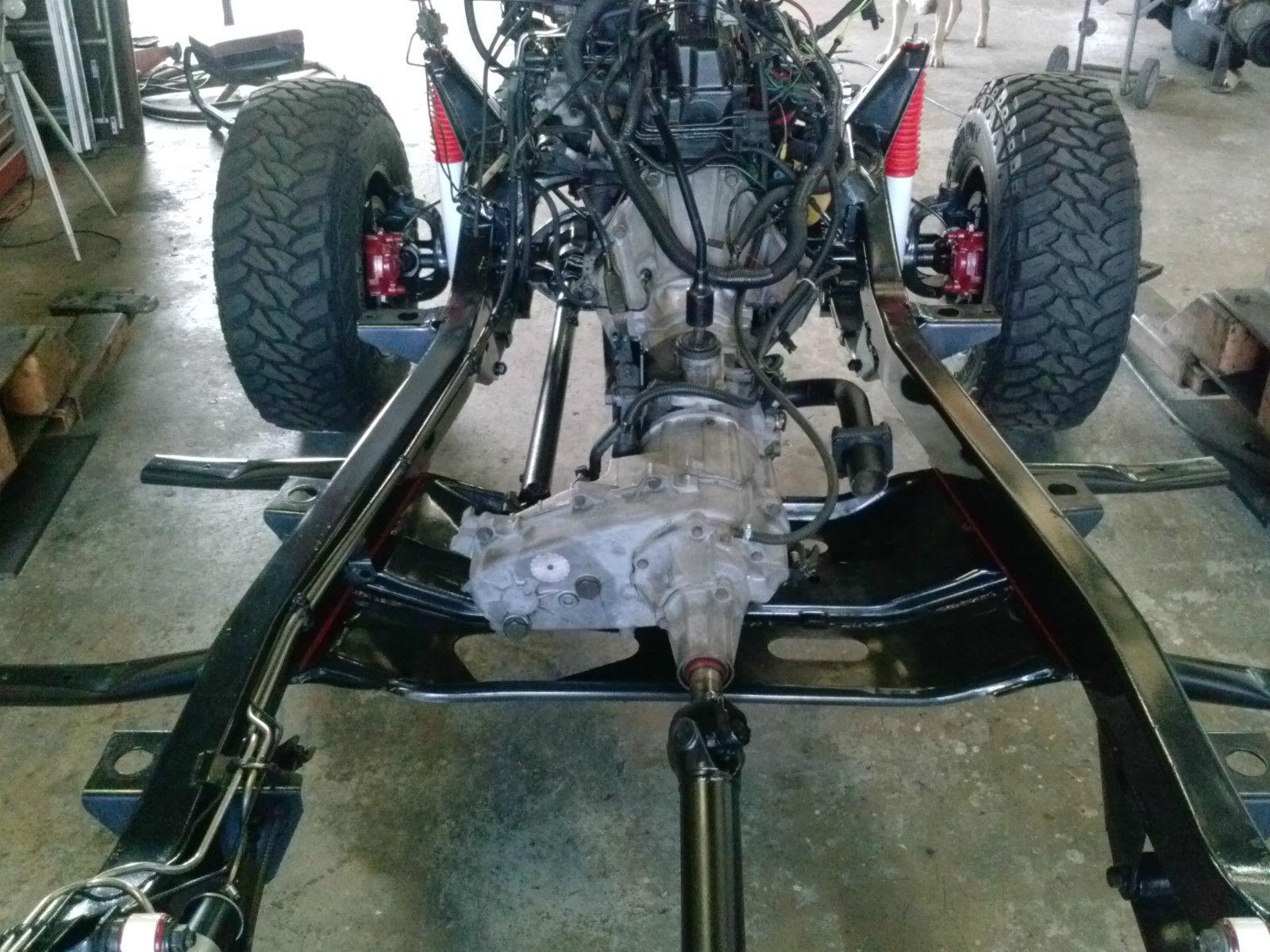 No Reserve 1993 Jeep Wrangler Yj Frame Off Restoration