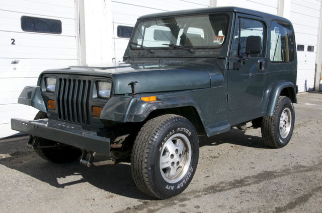 no reserve 1994 jeep wrangler s sport utility 2 door 2 5l 4 cyl 5 speed manual classic jeep. Black Bedroom Furniture Sets. Home Design Ideas