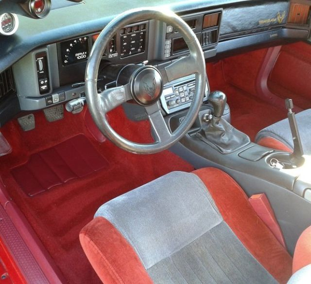 Interior Color Restoration Repair: No Reserve! `85 Trans Am LS1, 6spd, 500 Hp, Recent
