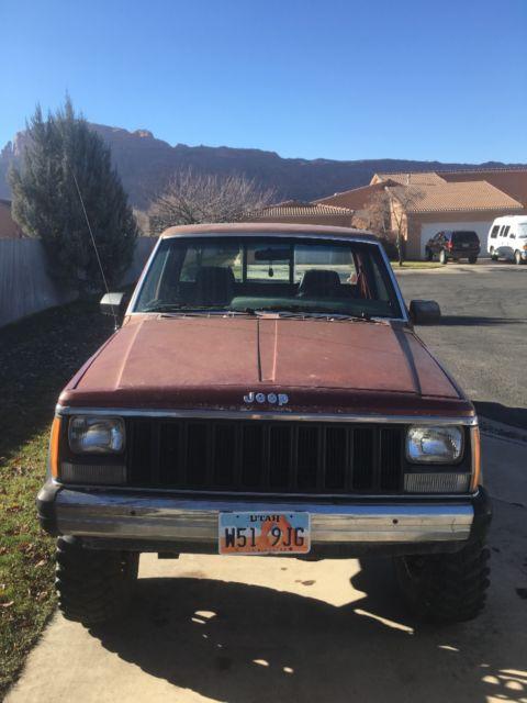 No Reserve Auction 1986 Jeep Comanche 4wd 28l Engine