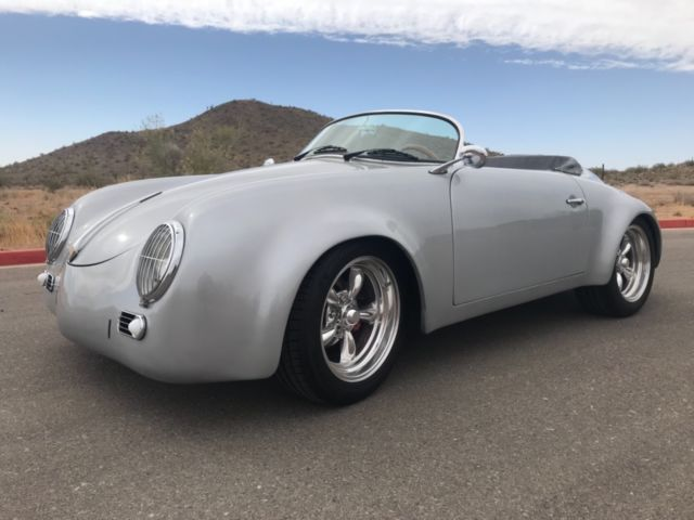 No Reserve Porsche 356 Vw Bug Replica Kit Car Race Car