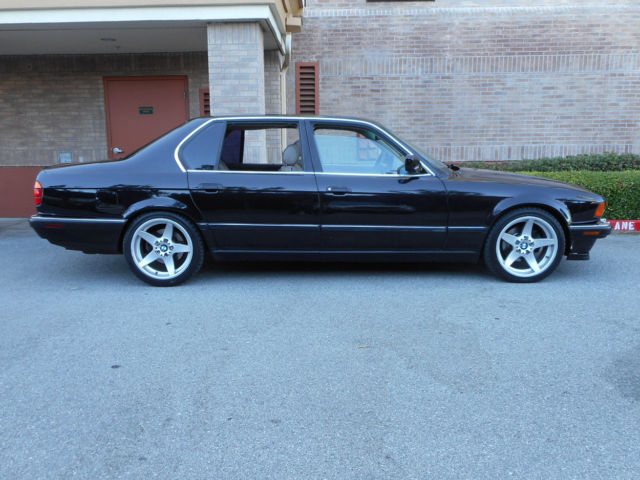 One Of A Kind 1994 BMW 740iL CUSTOM 6 SPEED MANUAL Transmission