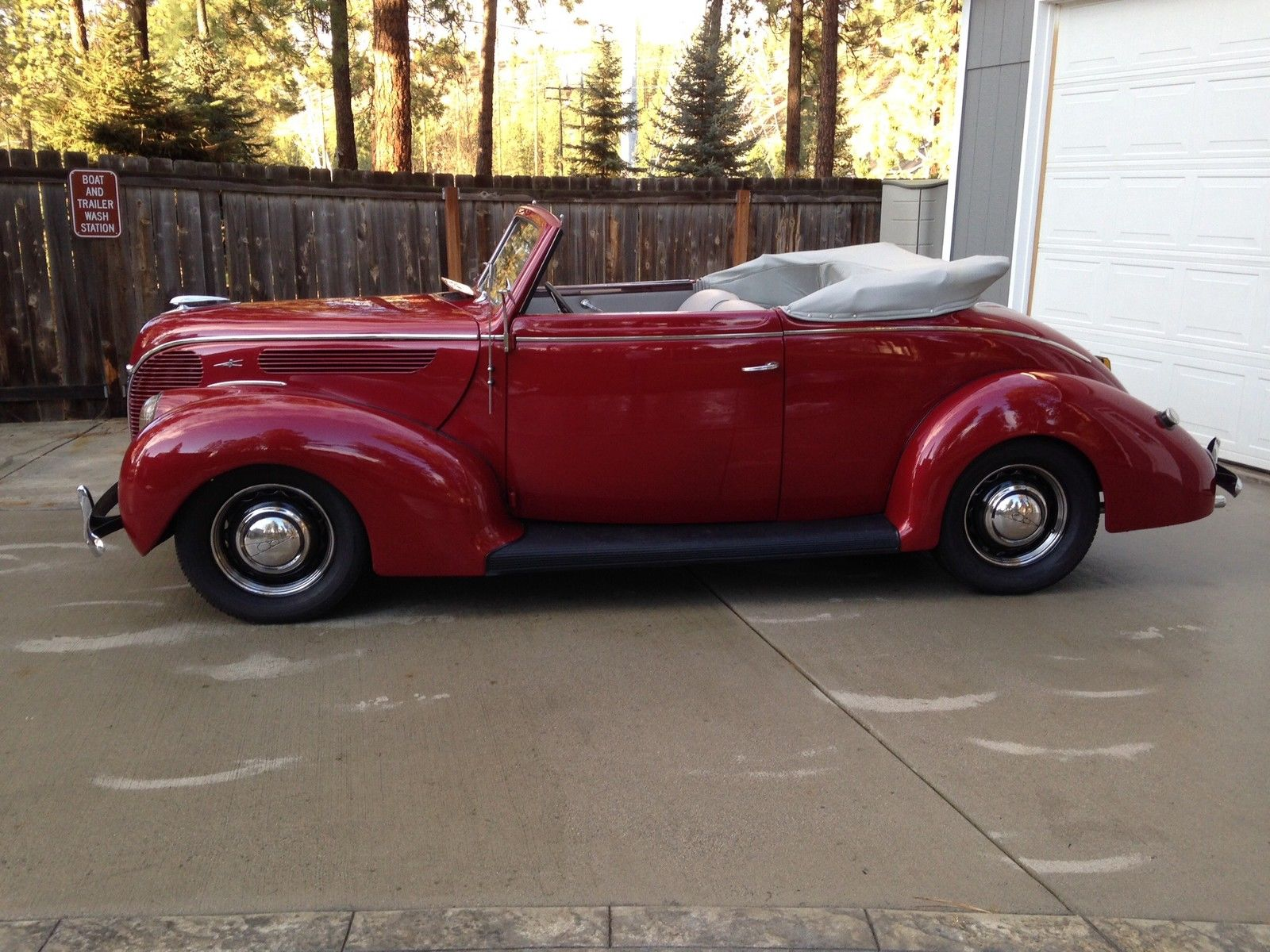 One Very Rare 1938 Ford Deluxe Convertible Club Coupe