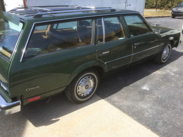 Only 7 324 Miles 1980 Buick Century Station Wagon