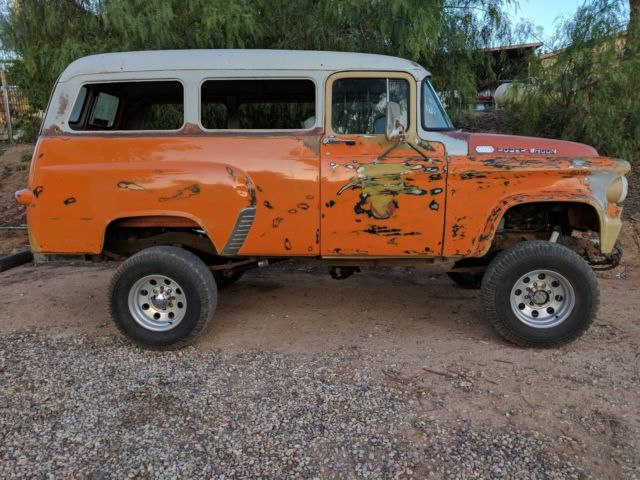 Lake Elsinore Dodge >> Original 1961 Town Wagon, Power Wagon, nice desert running driving truck. - Classic Dodge Power ...
