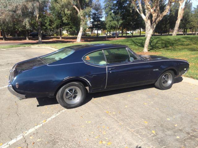 Original 1968 Olds 442 Coupe, 400 CID V8, Automatic