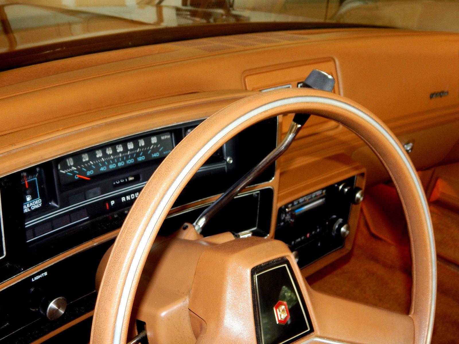 Original Malibu Classic Landau Mint Condition on Replace Valve Cover Gasket