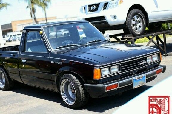 Original 1980 Datsun 720 Pickup Mini Truck Madness
