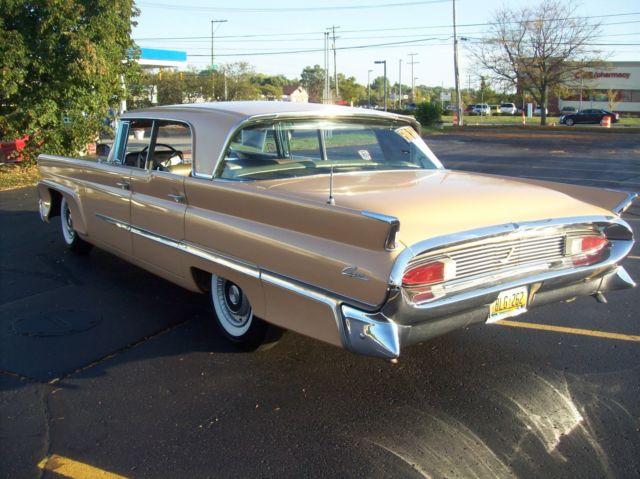 Original Solid Rare 1958 Lincoln Capri Arizona Car Runs
