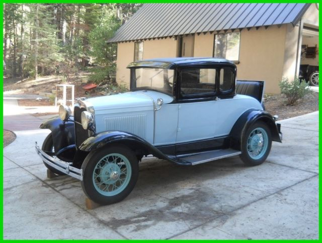 Original stock 1930 ford model a 5 window coupe 4cyl 3sp for 1930 model a 5 window coupe for sale