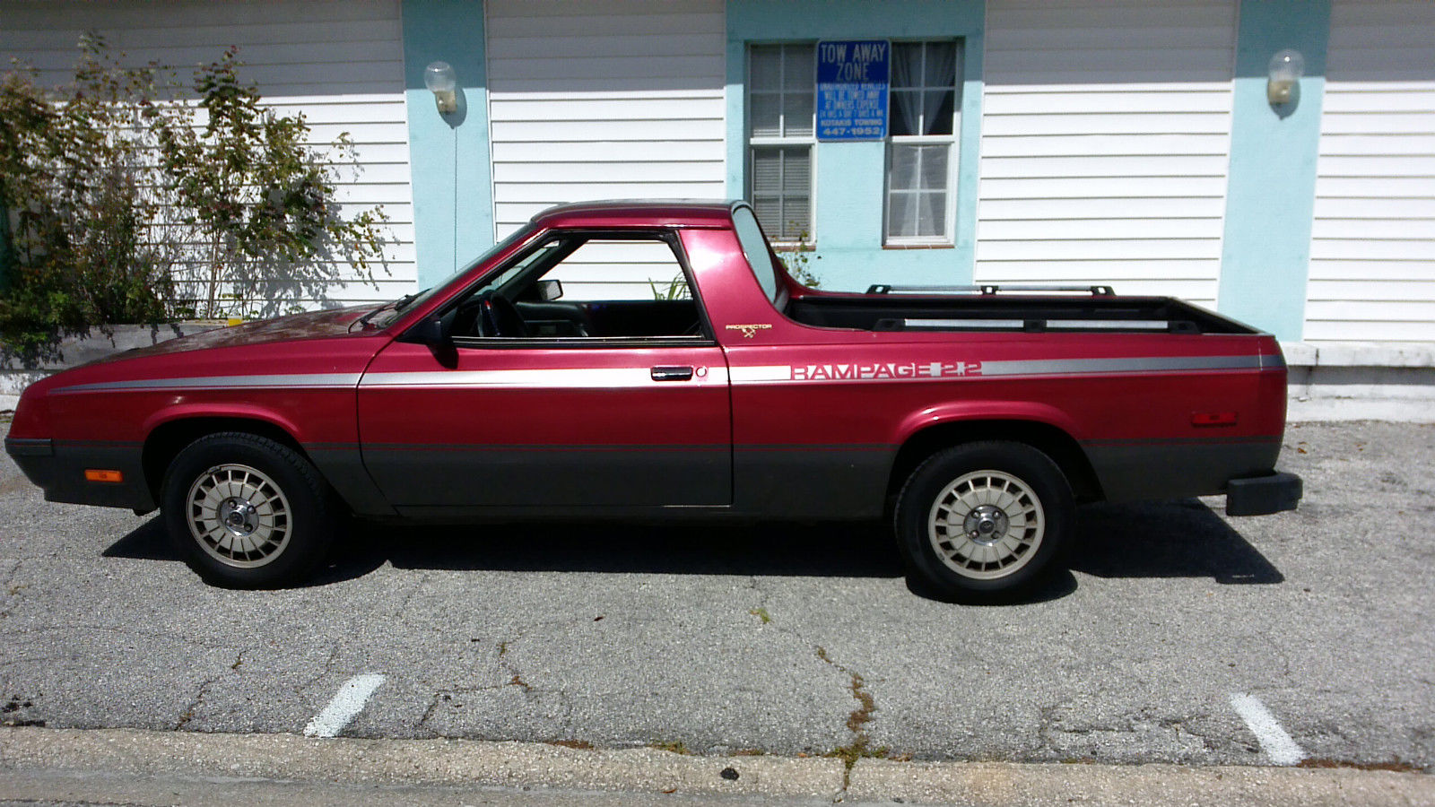 OUTSTANDING 1984 Dodge Rampage Prospector Edition ...