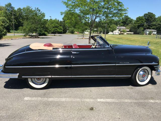 Packard 1948 Convertible Super Eight Victoria 2 Door Six
