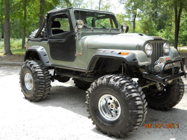 Jeep Cj Parts >> Parting Out Entire Monster Jeep Cj Parts 1 Ton Axles Amc 401 T