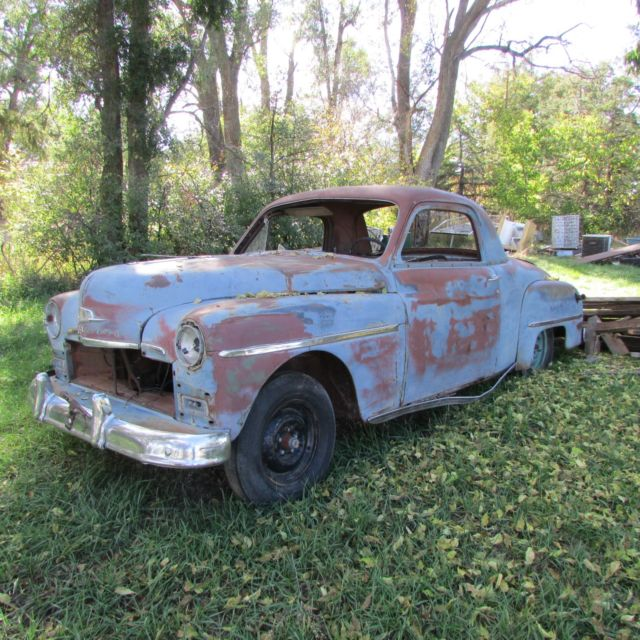 Parts car no title bill of sale only 1950 deluxe plymouth for 1950 plymouth 2 door coupe