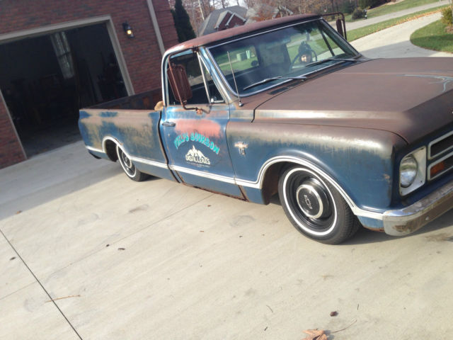 Transmission Fluid Color >> Patina,lowered,V8,long bed,bourbon truck - Classic Chevrolet C-10 1967 for sale