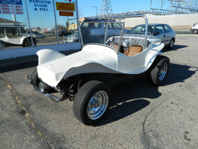 Pearl white berry mini-t dune buggy freshly reconditioned