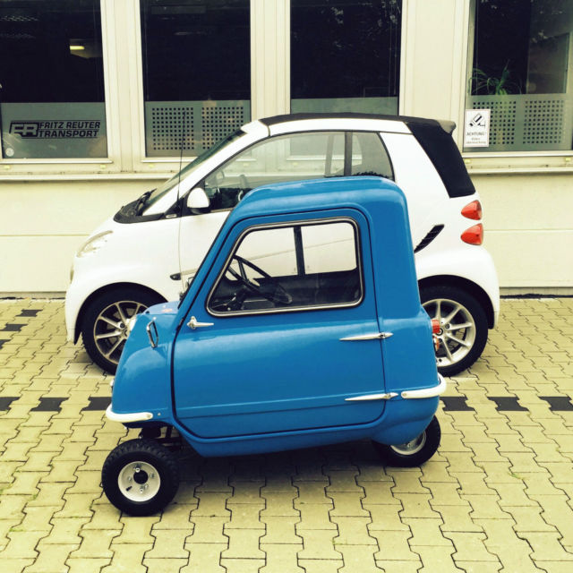 Peel P50 The World's Smallest Production Car / 1 of 50 ...