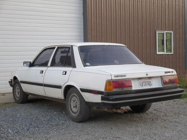 peugeot 505 td 1982 turbo diesel only 69 582 original miles project car classic peugeot. Black Bedroom Furniture Sets. Home Design Ideas