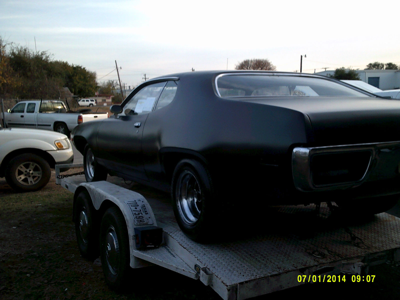 Plymouth Mopar Satellite Roadrunner Gtx 440 Project Muscle