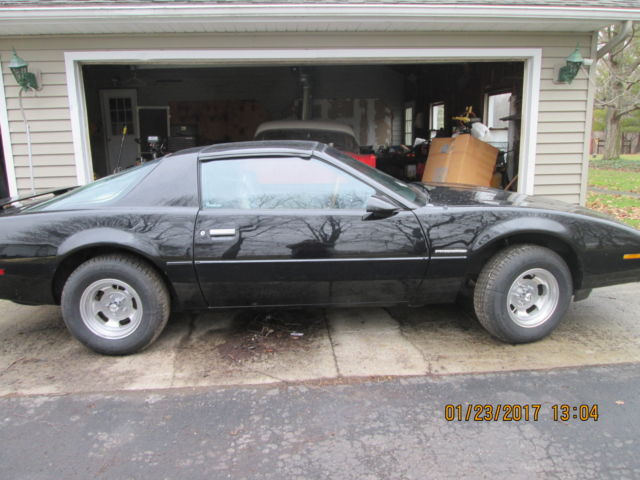 pontiac firebird chevy camaro black excellent high performance classic car gm classic pontiac trans am 1984 for sale smclassiccars com