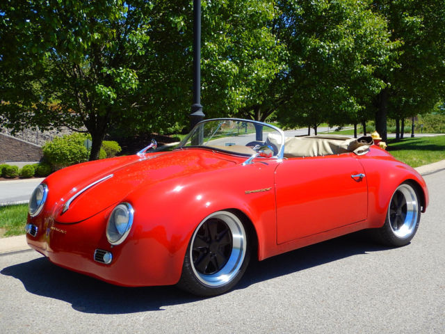 Porsche 356 Outlaw Speedster Widebody Tribute Classic Porsche 356 1956 For Sale