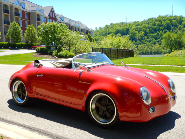 Porsche 356 Outlaw Speedster Widebody Tribute Classic