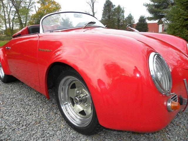 Porsche 356 Speedster Replica California Wide Body Pontoon