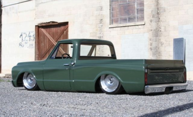 Porterbuilt C10 Chevy F100 Accuair Lowered Bagged Air Ride