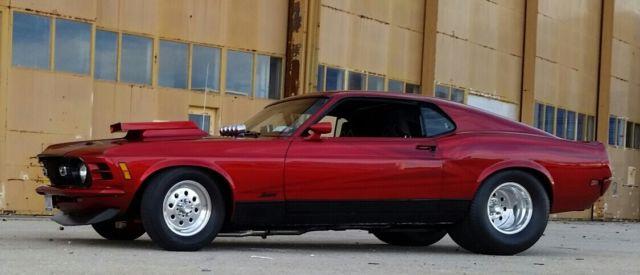 "Pro Street 1970 Mustang Mach 1 ,""Q"" code 428 Cobra Jet ..."