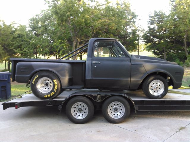 Pro Street Lightweight 1968 Chevy C10 Step Side Drag Truck