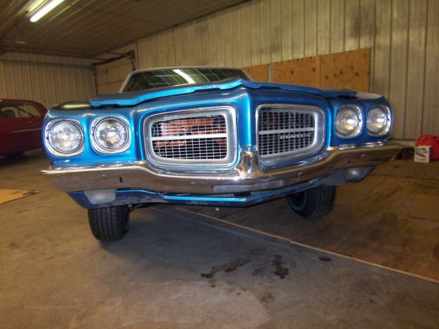 Pro Street Project Car Cars 1971 71 Pontiac Lemans Classic