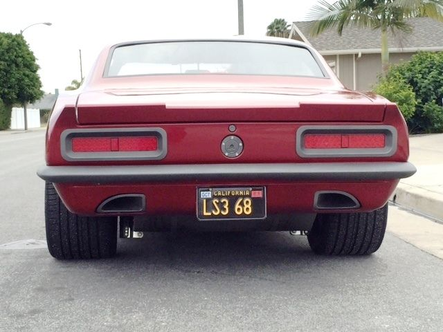 Cars For Sale Fresno Ca >> Pro Touring 1968 Camaro LS3 - Classic Chevrolet Camaro 1968 for sale
