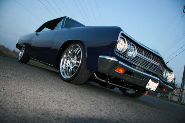 400 Turbo Transmission >> Pro Touring RestoMod Custom Frame off Restoration 65 ...