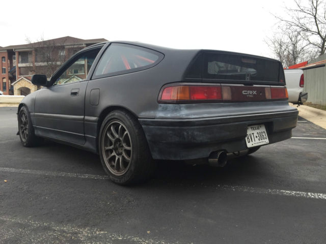 Professionally Built Crx Si Street Track Whp B Vtec With Cage