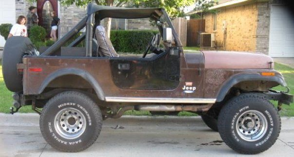 project jeep cj7 1977 levi ed 3 speed 4x4 classic jeep cj 1977 for sale. Black Bedroom Furniture Sets. Home Design Ideas
