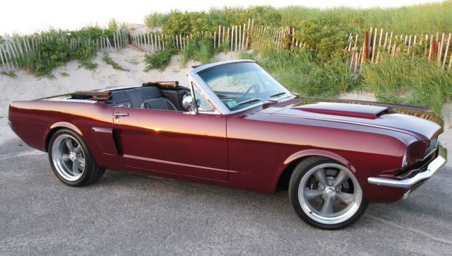 Protouring Resto Mod Convertible Shelby Gt Eleanor on 1966 Mustang Vin Location