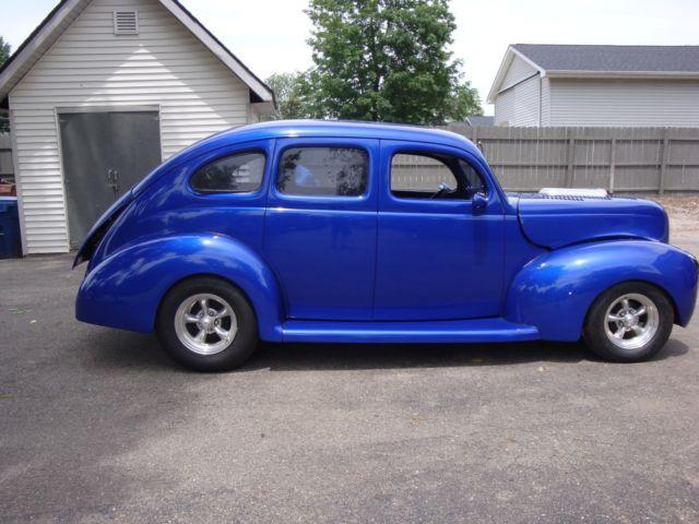 Rare 1939 ford 4 door deluxe slant back sedan hot rod for 1939 chevy 4 door sedan