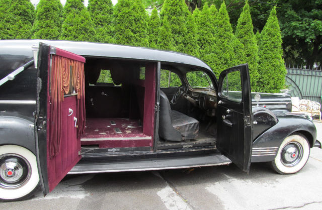 rare 1942 packard henney hearse funeral car orig complete survivor clear title classic packard. Black Bedroom Furniture Sets. Home Design Ideas