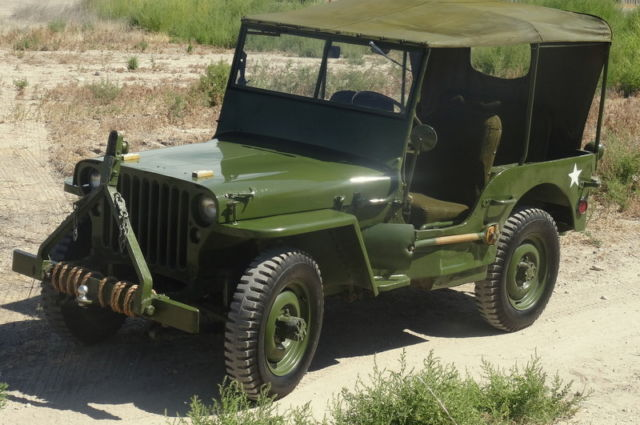 rare 1942 willys mb jeep world war 2 wwii classic willys willys jeep mb 1942 for sale. Black Bedroom Furniture Sets. Home Design Ideas