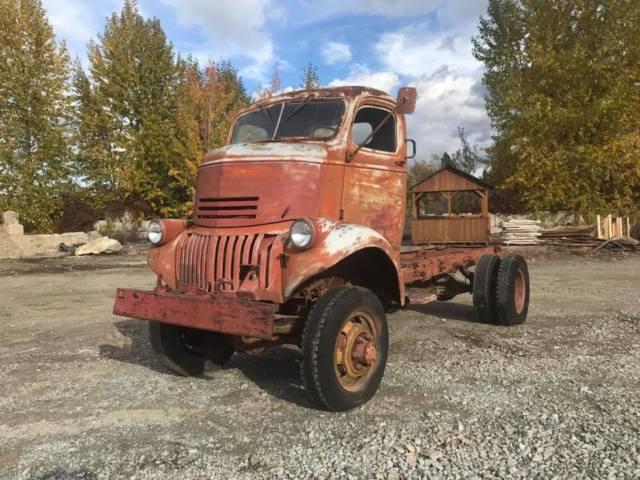 RARE 1946 CHEVROLET G7123 4X4 COE cabover U.S. Army ...