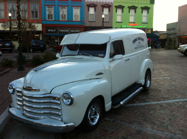 wiring harness 1949 rare 1953 chevy 3100 panel truck with all real wood  rare 1953 chevy 3100 panel truck with all real wood