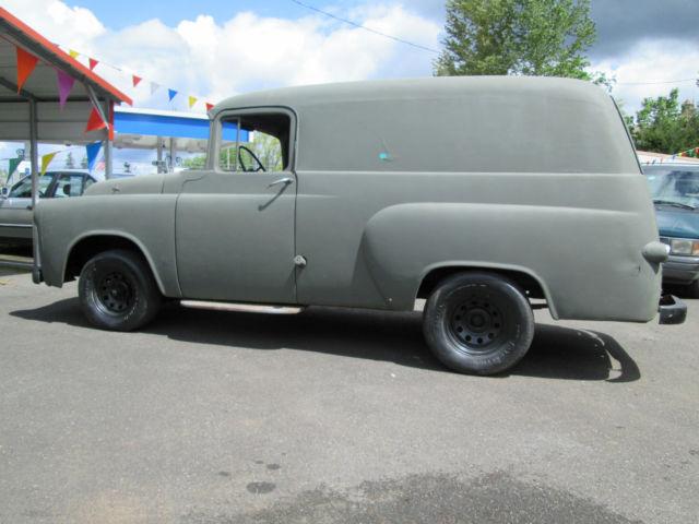 Rare 1955 Dodge Panel Truck 383 Automatic Runs Drives