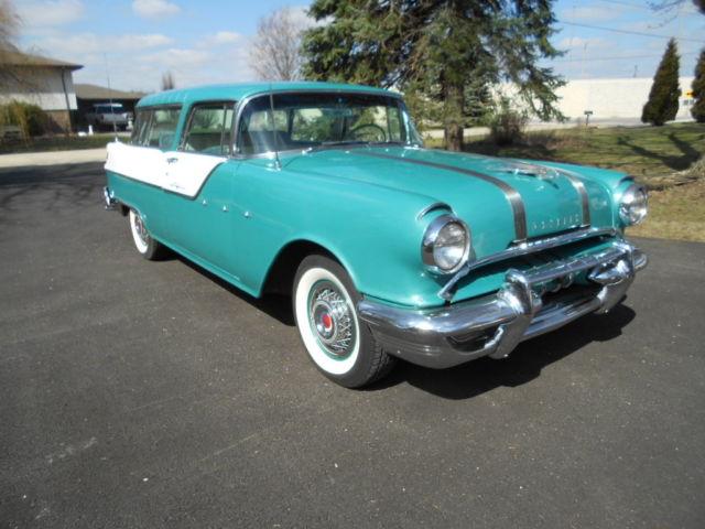 Rare Pontiac Star Chief Safari Sport Two Door Wagon Chevrolet Nomad Style on Pontiac Paint Code Location