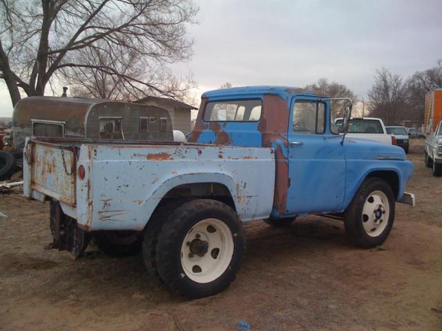 Rare 1958 Ford F-500 Shortbed Dually Hot Rat Rod 55 57 ...