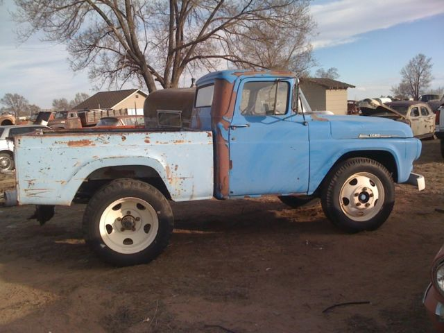 Rare Ford F Shortbed Dually Hot Rat Rod Chevy Mopar Sbc